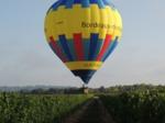 montgolfière au-dessus du vignoble de Bordeaux, Saint Emilion, Gironde