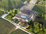 Village de Saint Emilion en Gironde a coté de Bordeaux, Balade en montgolfière, estuaire de la gironde