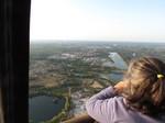 Vol en montgolfère en gironde Saint Emilion dans le sud ouest de la France