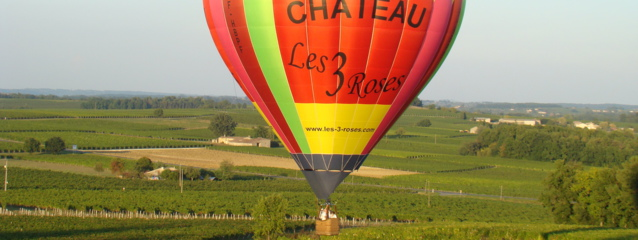 vol montgolfiere gironde, montgolfiere aquitaine,baptême de l'air montgolfiere